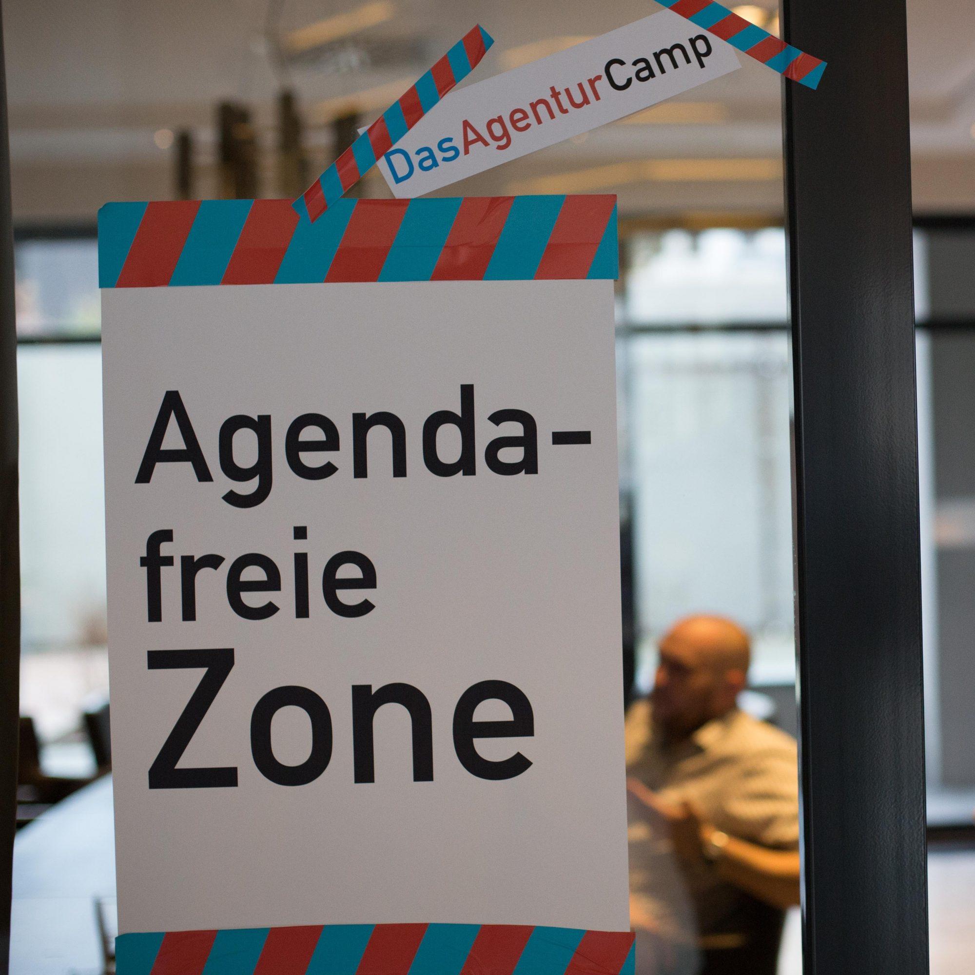 Das AgenturCamp. Agenda-freie Zone